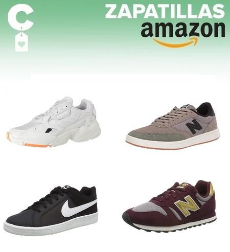 9 chollos en tallas sueltas de  zapatillas Nike, New Balance o Adidas en Amazon por menos de 40 euros
