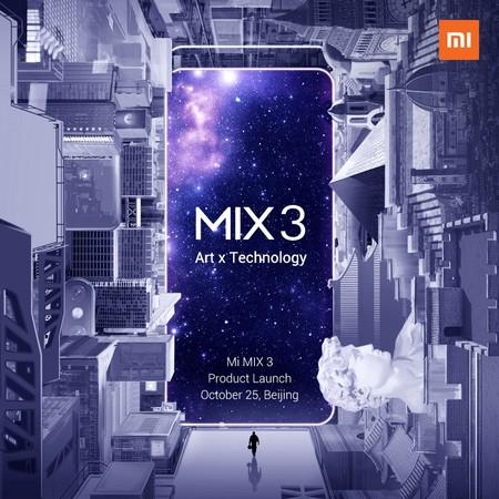 Xiaomi Mi Mix 3 25 Octubre