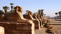 Egipto reabre la Avenida de la Esfinges en Luxor