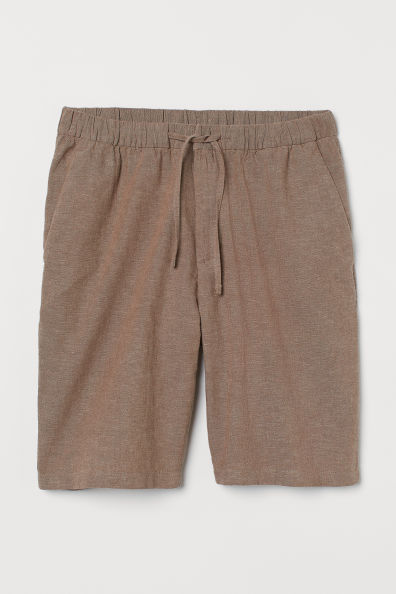 Pantalón corto con cordón