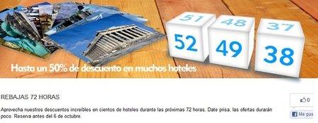 Aproveche las 72h de rebajas en Expedia.es