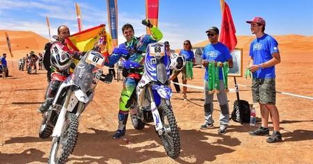 Nacho Sanchis Rally Merzouga Viernes 1
