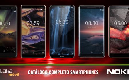 Nokia 5.1, Nokia 3.1 y Nokia 2.1, así encajan dentro del catálogo completo de móviles Nokia en 2018