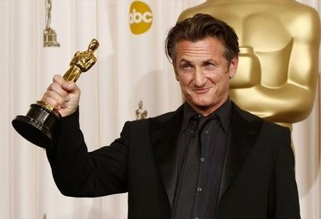 Sean Penn en los Oscar 2009