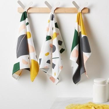 Renueva los textiles de tu cocina: los delantales y paños más bonitos (y al mejor precio)