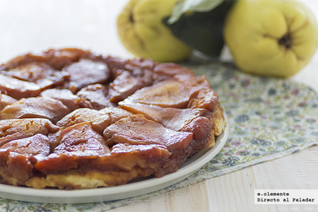 Tarta Tatin de membrillos: receta para una deliciosa tarta de temporada