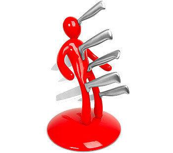 Cuchillos vudú en tu cocina