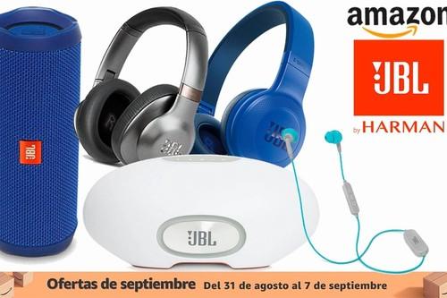 Ofertas de septiembre en Amazon: auriculares de diadema, de tapón y altavoces Bluetooth JBL a los mejores precios