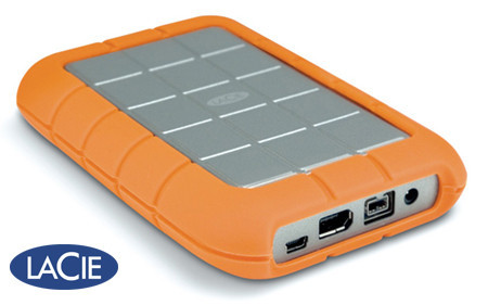 Lacie Rugged All-Terrain, disco duro externo de 320 Gb