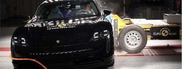 Euro NCAP estrella 12 coches en su última tanda: el Porsche Taycan y el Tesla Model X, entre los nueve modelos con la mejor nota