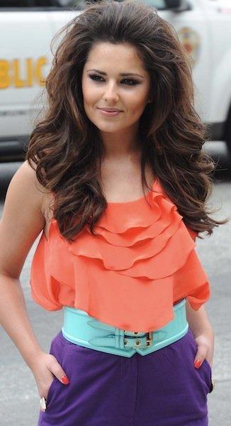 Cheryl Cole peinado