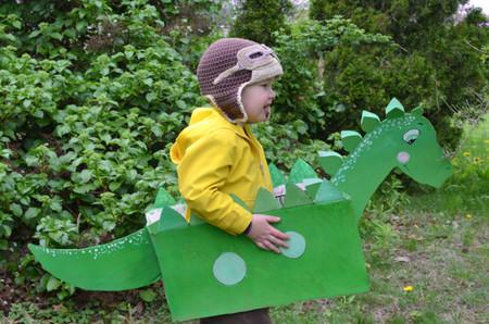 Manualidades Dinosaurios Caja Carton