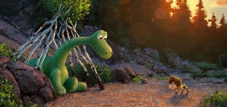 Un diseño artístico de The Good Dinosaur