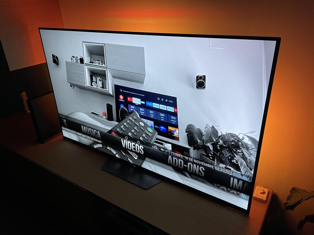 Cómo personalizar el aspecto de Kodi en Android-OS TV cambiando el esquema de la pantalla