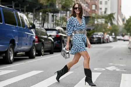 El street style de NYFW ya ha escogido su calzado para este otoño: amaremos las botas altas de caña ancha