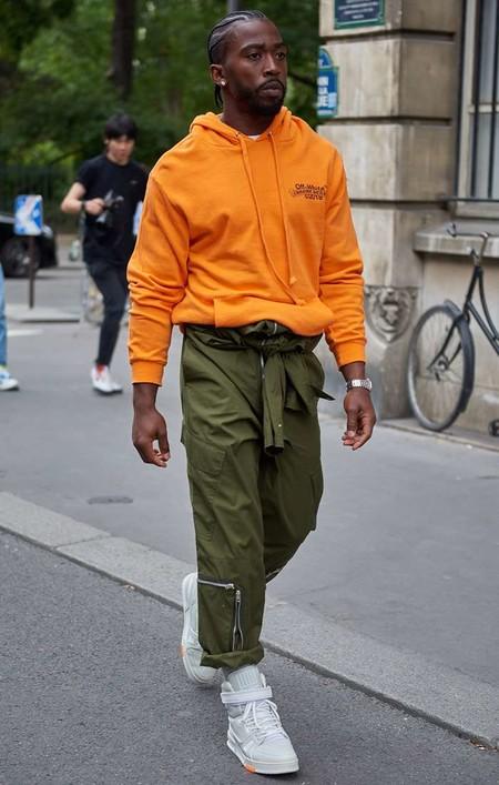 El Mejor Street Style De La Semana El Naranja Se Impone Como El Color De Transicion De Temporada 07