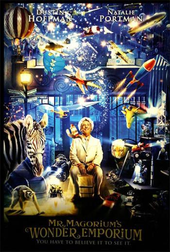 Póster y foto de 'Mr. Magorium's Wonder Emporium' con Dustin Hoffman y Natalie Portman