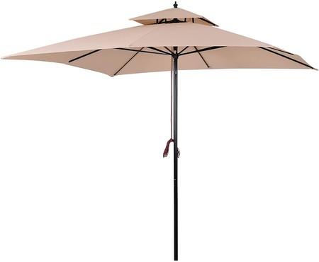 Sombrilla Parasol de Acero