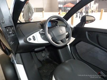 interior del Renault Twizy