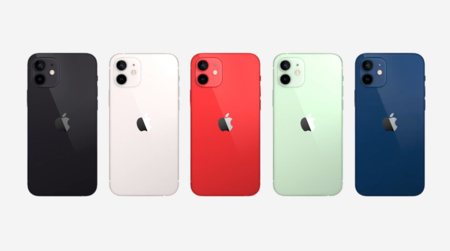 Colores oficiales del iPhone 12 Mini