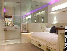 Mini-habitaciones de hotel en los aeropuertos