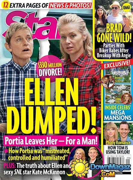 A Ellen se le acabó el amor