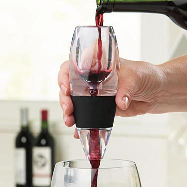 Set de decantador y respirador de vino para regalos del Día del Padre