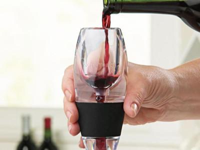 Set de decantador y respirador de vino. Regalo para el Día del Padre