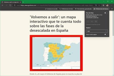 Microsoft Edge Traductor