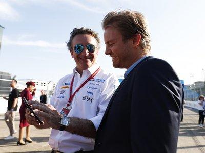 Nico Rosberg sucumbe a los encantos de la Fórmula E