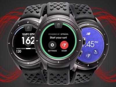 New Balance RunIQ: la oferta Android Wear crece con este smartwatch para deportistas