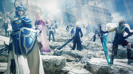 Los héroes y villanos de Final Fantasy colisionan en la gloriosa escena de apertura de DISSIDIA Final Fantasy NT