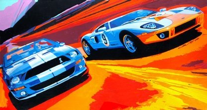 Ford GT y Shelby GT500, cara a cara