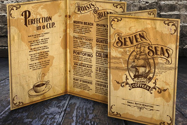 Art of the menu cartas de restaurante con estilo for Disenos de menus para restaurantes