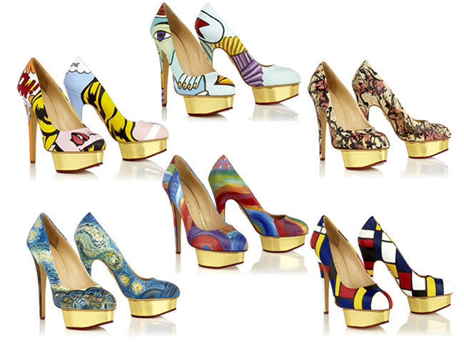 Dolly Art Shoes