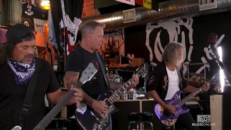 Twitch sustituyó la música en directo de Metallica durante la BlizzCon 2021 por un tema cualquiera sin derechos de autor