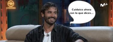 El motivo por el que Álex García abandonó su entrevista en 'La Resistencia' (y cómo reaccionó David Broncano)