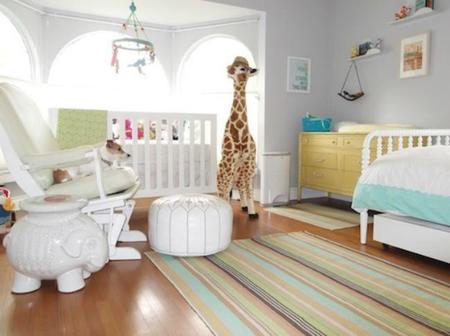 Una habitación infantil repleta de luz