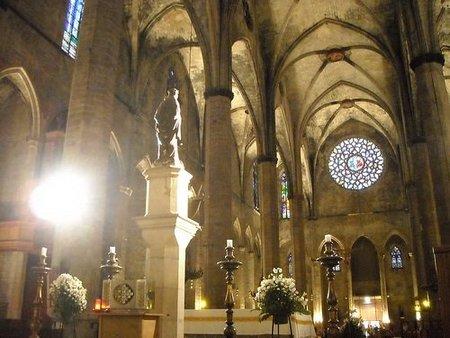 Santa María del Mar de Barcelona luce restaurada