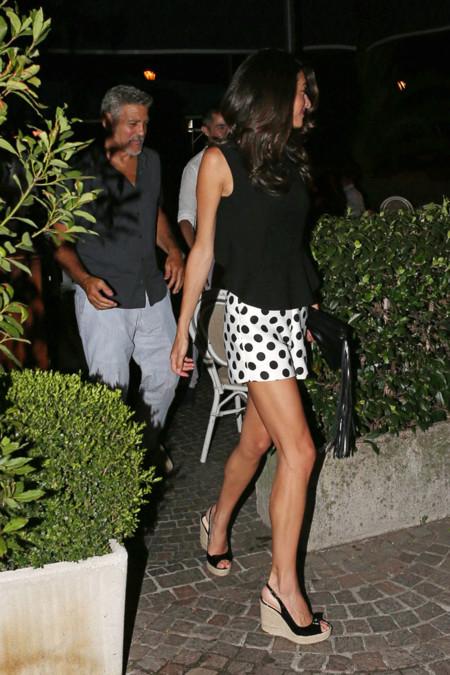 Amal Clooney Shorts