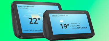 """Los altavoces con pantalla Echo Show de 5"""" y 8"""" están rebajados de nuevo a su precio mínimo histórico en Amazon"""