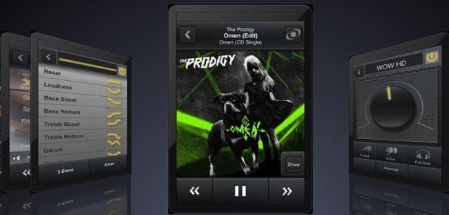 Algunas capturas de pantalla de MyTunes