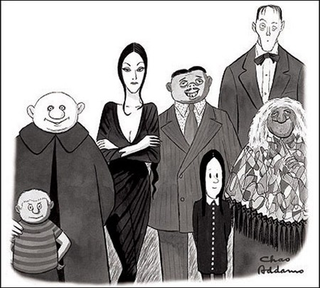 Addams Comic