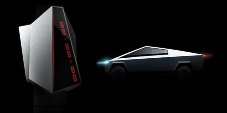 Este reloj se inspira en la Tesla Cybertruck y es una burla (otra más) de la pick-up eléctrica