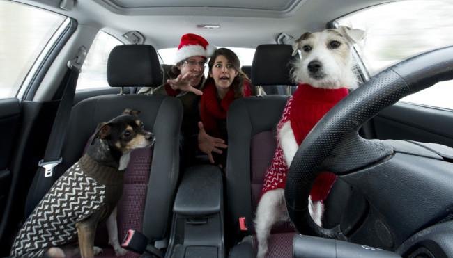 Cómo hacer una buena foto familiar de Navidad que no sea la típica foto familiar de Navidad
