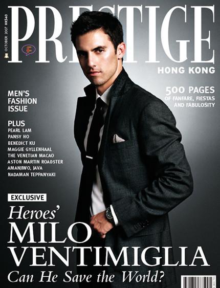 """Milo Ventimiglia: el """"héroe"""" más sexy"""