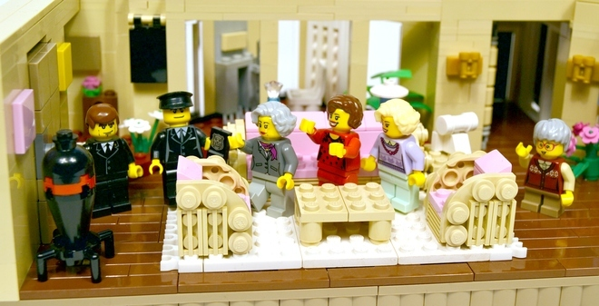 Foto de La versión LEGO de 'Las chicas de oro' (14/19)