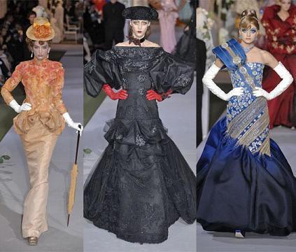 Christian Dior Alta Costura otoño-invierno 2007/08