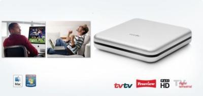 Eye TV Netstream, sintonizador de televisión que envia la imagen por la red local