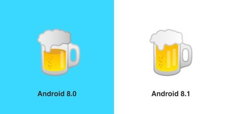 Emoji Cerveza Google
